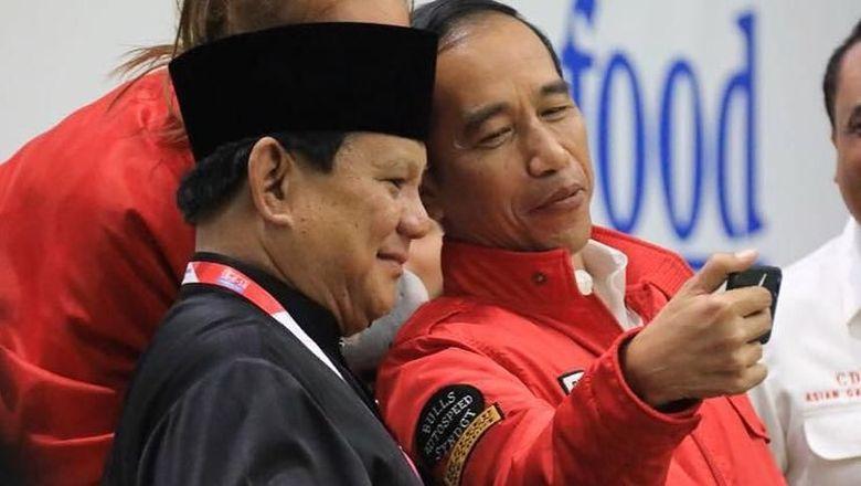 Elektabilitas Jokowi-Maruf Vs Prabowo-Sandiaga di 3 Survei