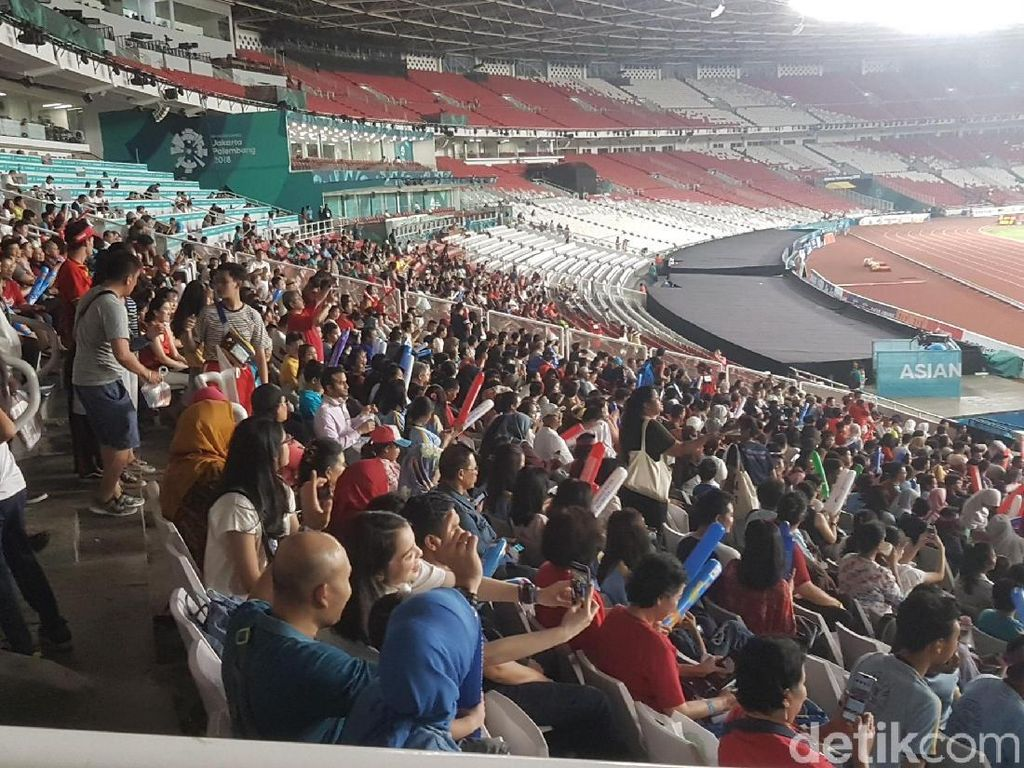Di GBK Malam Ini, Cabang Atletik Jadi Magnet Suporter Indonesia