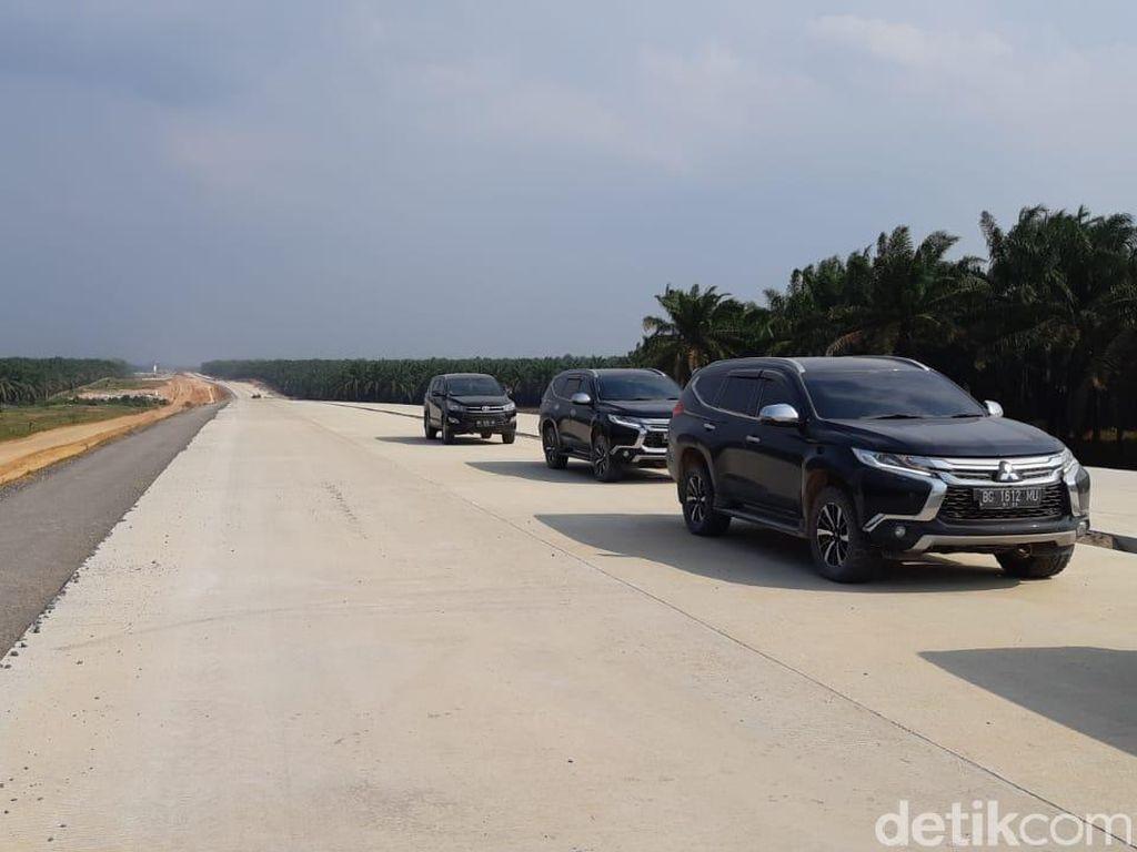 Penampakan Terkini Akses Tol Pertama Lampung