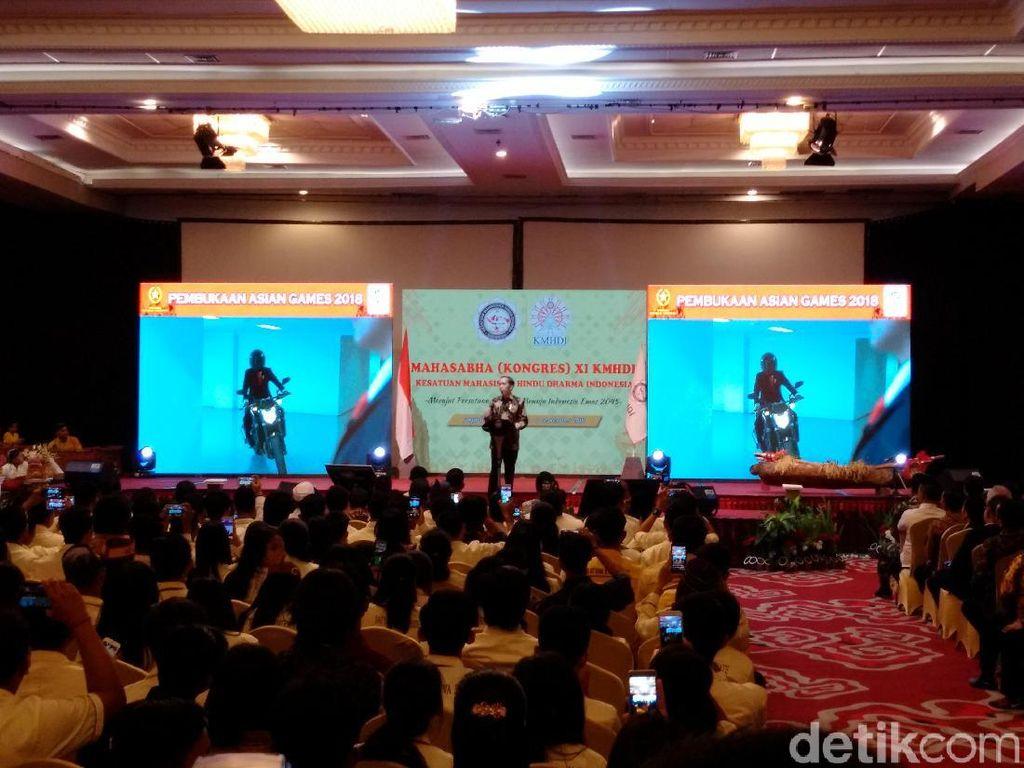 Masih Soal Stuntman, Jokowi: Kalau Presiden Akrobat, Ya Gila Bro!