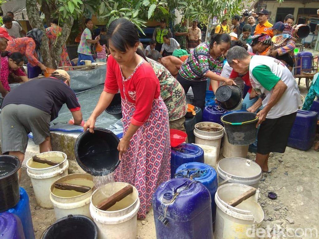 31 Desa di 11 Kecamatan Lamongan Kekeringan, 4 Desa Krisis Air