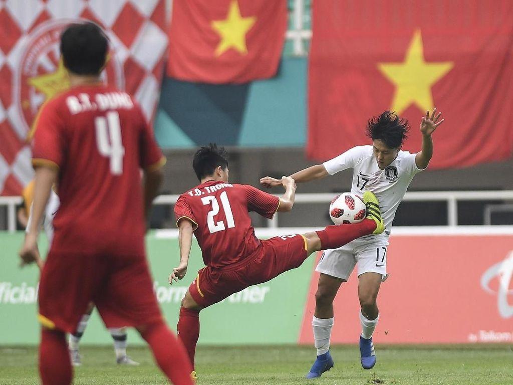 Kalahkan Vietnam, Korsel ke Final Sepakbola Asian Games 2018
