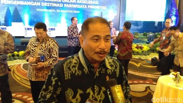 Menpar Arief Yahya (Usman/detikTravel)