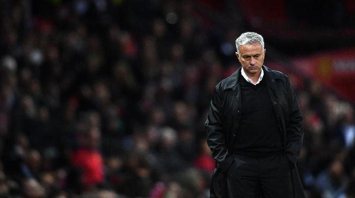 Manajer Manchester United, Jose Mourinho. (Foto: Clive Mason/Getty Images)