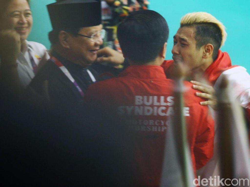 Pesan Menggugah Hanifan, Pesilat Emas yang Peluk Jokowi-Prabowo