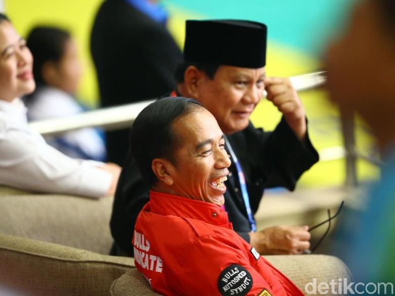 Jokowi Vs Prabowo di 5 Survei Terakhir