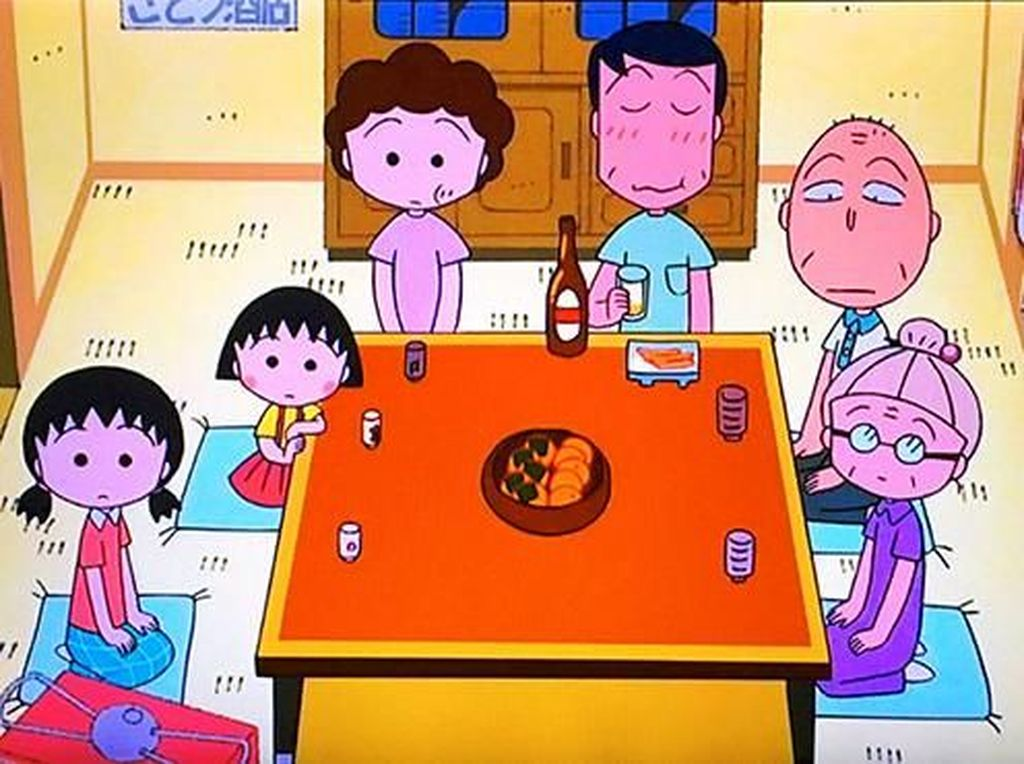 Jepang Rayakan 30 Tahun Usia Chibi Maruko-chan