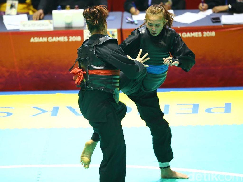 Giliran Wewey Wita Sumbang Emas Asian Games 2018 dari Pencak Silat