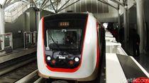 LRT Jakarta Lakukan Uji Coba Publik Lagi