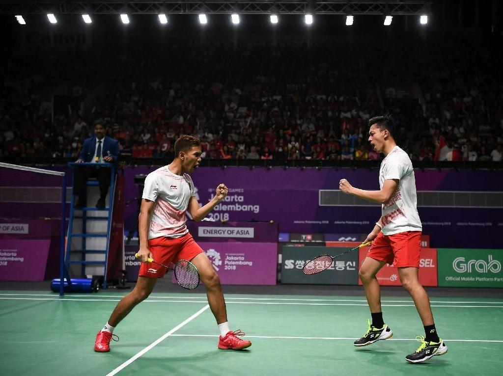 Fajar/Rian Dipatok Capai Final di Lucknow