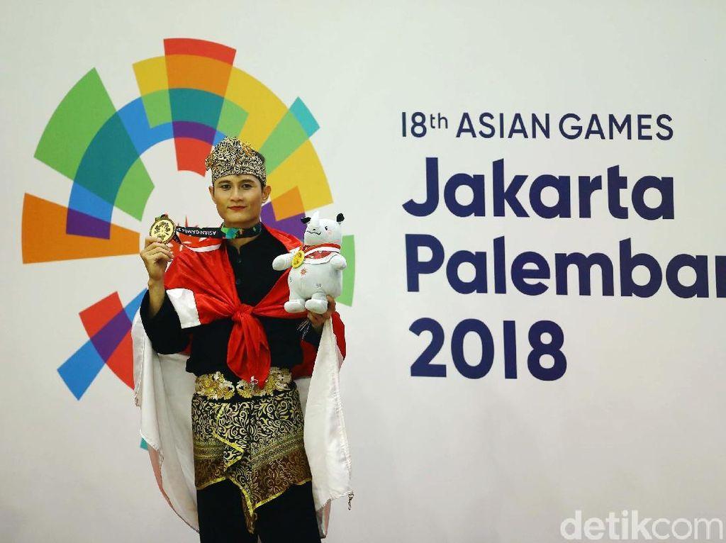 Pesilat Sugianto Tambah Emas Indonesia di Asian Games 2018