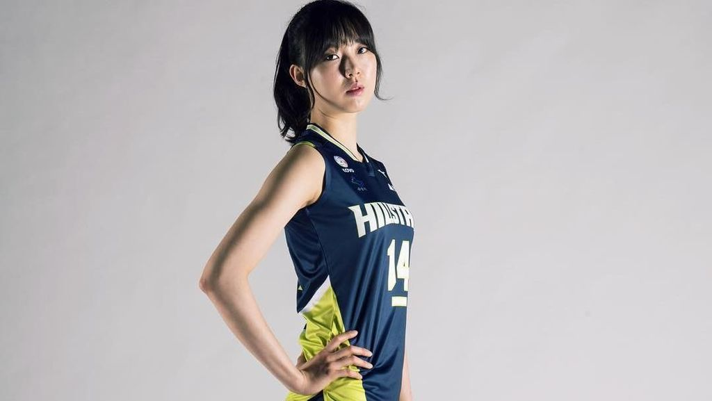 Foto: Liburannya Yang Hyo Jin, Atlet Voli Imut-imut dari Korea