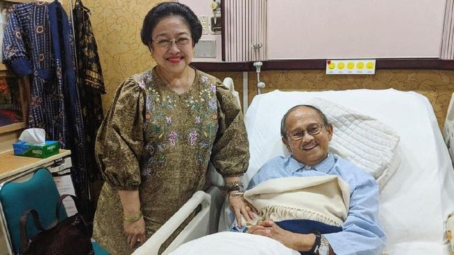Berita BJ Habibie Meninggal, Megawati Kehilangan Sahabat Akrab Minggu 22 September 2019