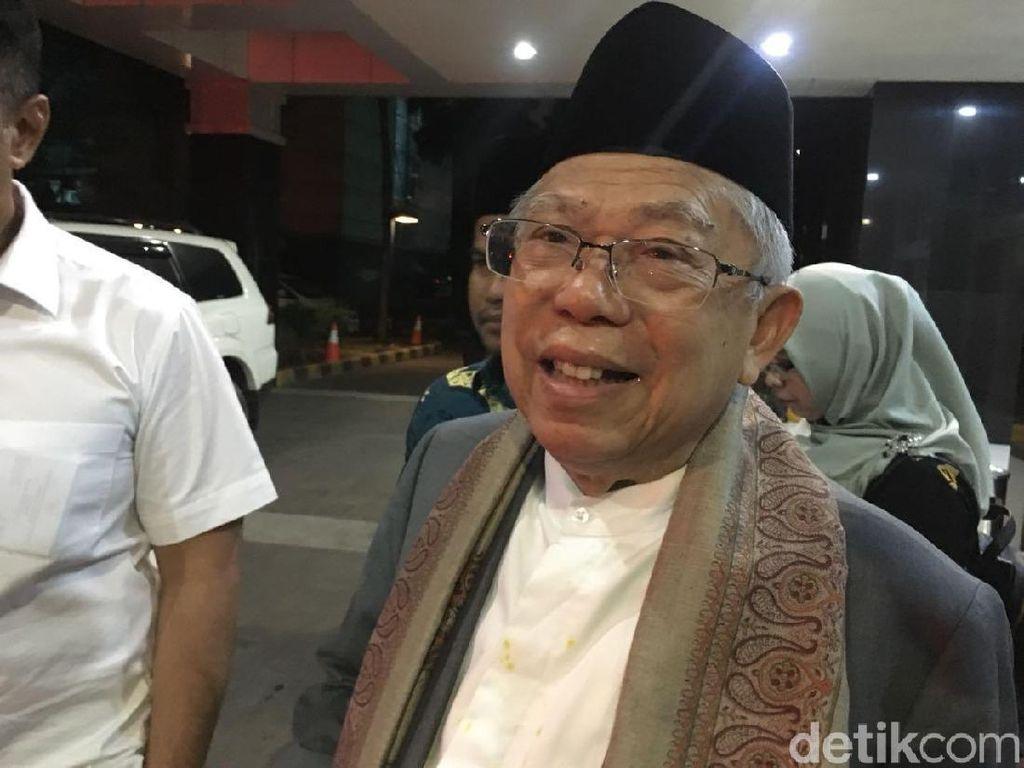 Diserang Yahya Waloni Soal Pemimpin Tua, Ini Tanggapan Maruf Amin
