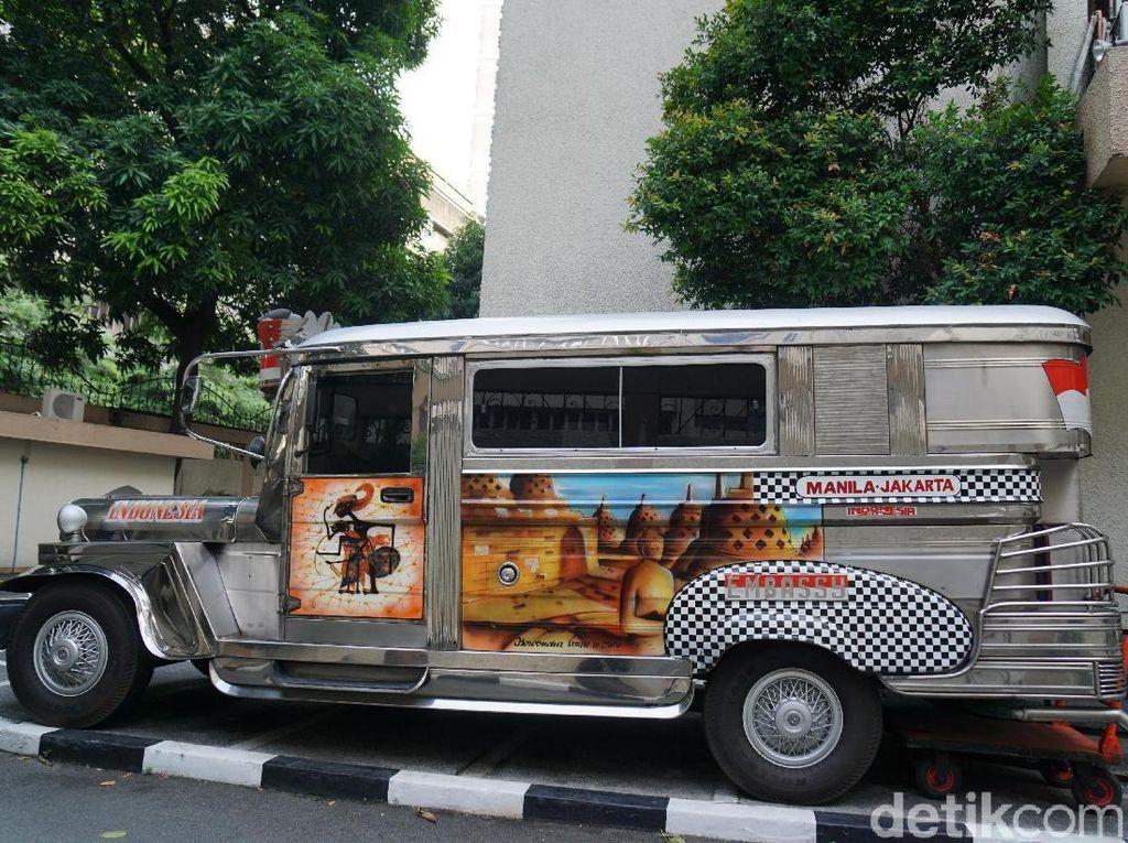 Foto: Mau Naik Jeepney Jurusan Manila-Jakarta di Filipina?