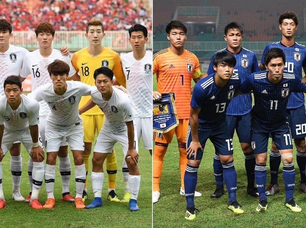 Jadwal Final Sepakbola Asian Games 2018: Korsel vs Jepang