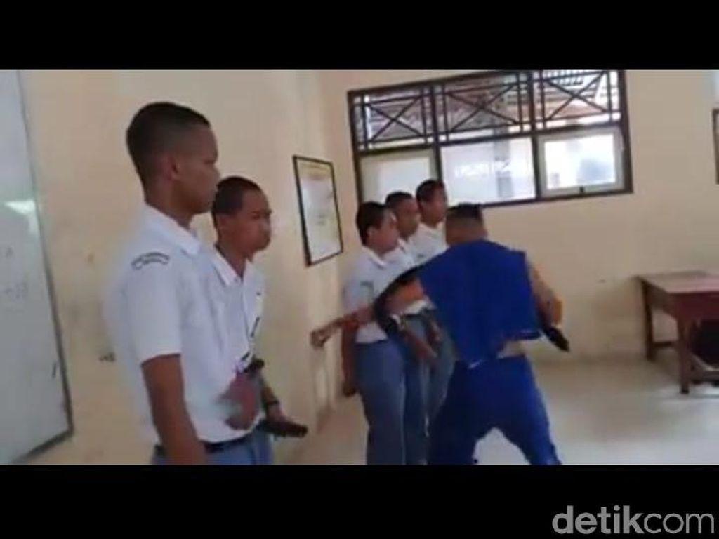 Viral Video Aksi Senior Pukuli Adik Kelas di SMKN 3 Kota Tegal