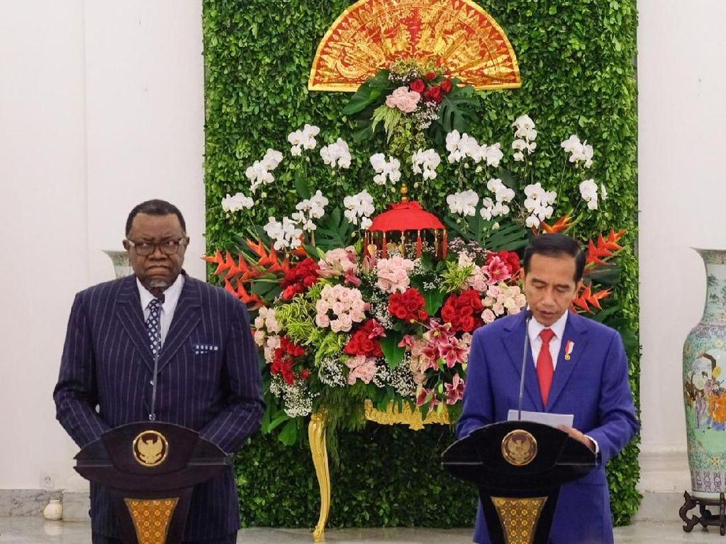 Jokowi Minta WIKA Bangun 2.000 Rumah di Namibia