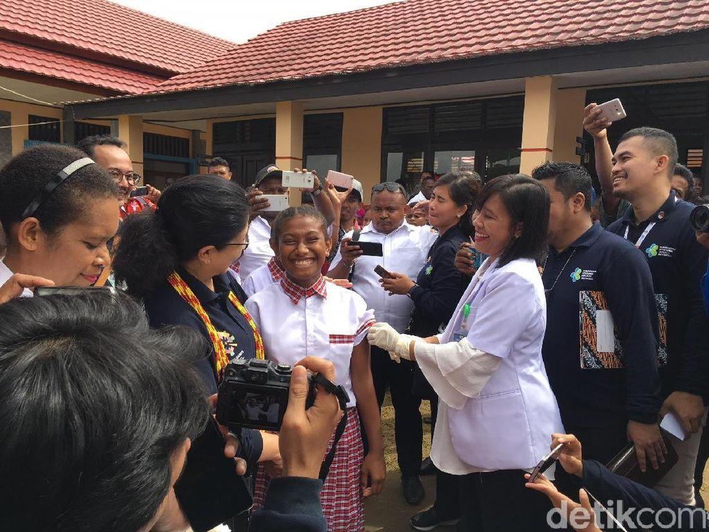 Soal Tingginya Capaian Imunisasi MR di Bintuni, Menkes: Komitmen Pemimpin Penting
