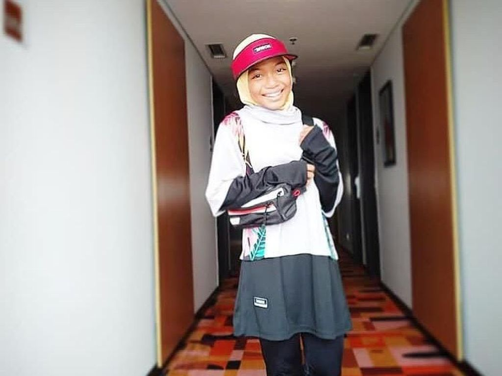 Gaya Nyimas, Hijabers 12 Tahun yang Raih Medali di Asian Games