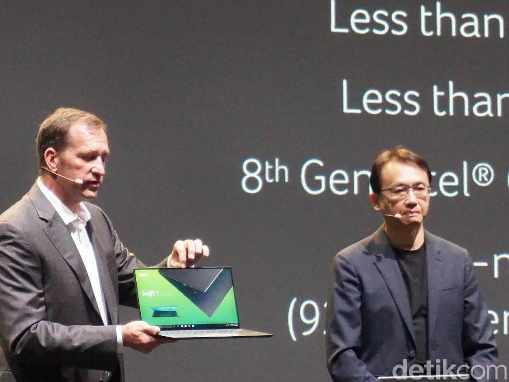Lagi, Acer Luncurkan Laptop Tertipis di Dunia