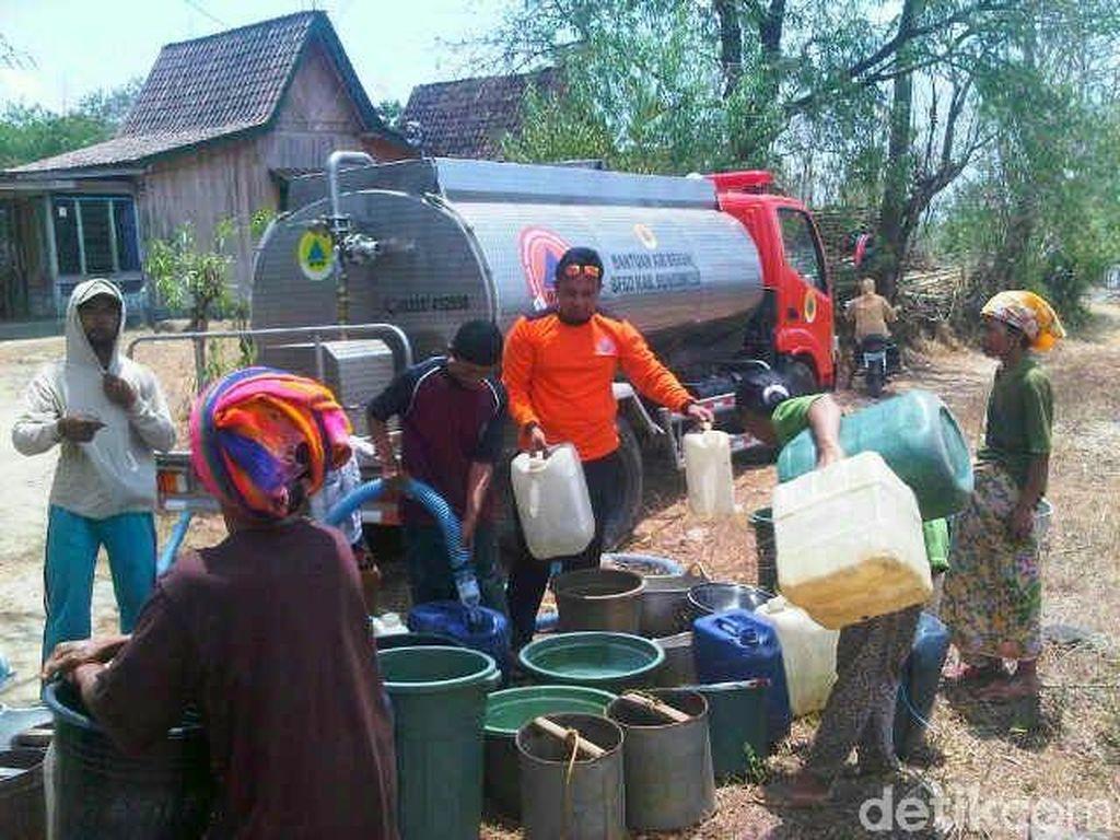 Tiga Desa di Bondowoso Ini Alami Krisis Air Paling Parah