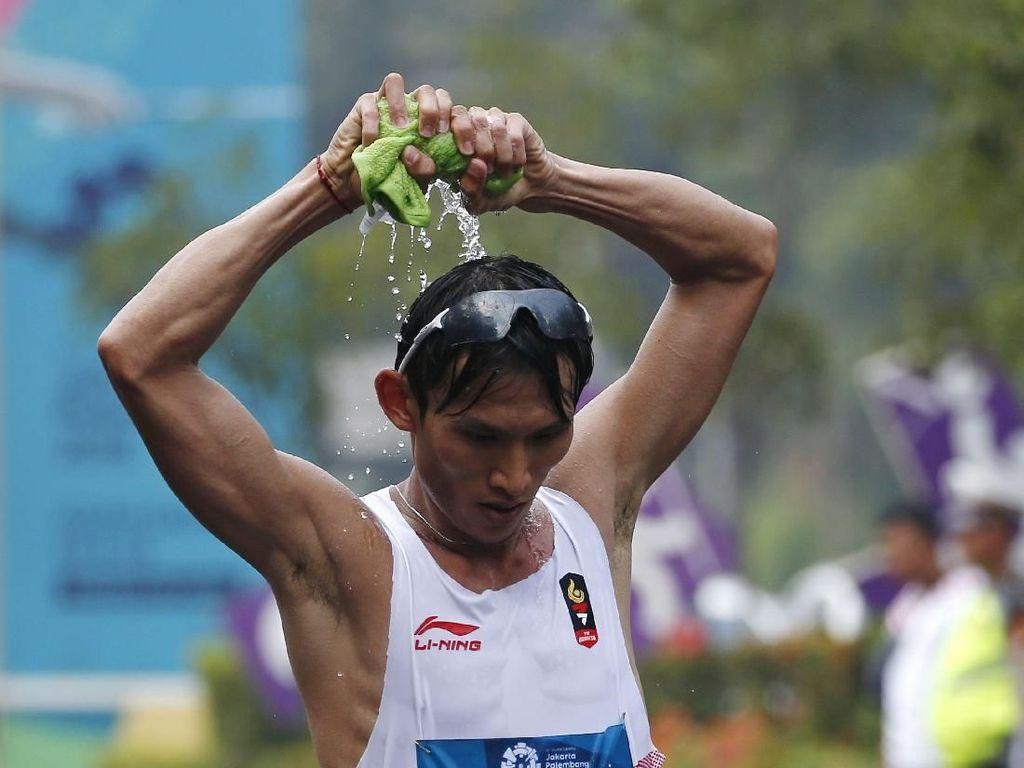 Finis ke-5 Jalan Cepat 50 Km, tapi Hendro Pecah Rekornas Berumur 21 Tahun