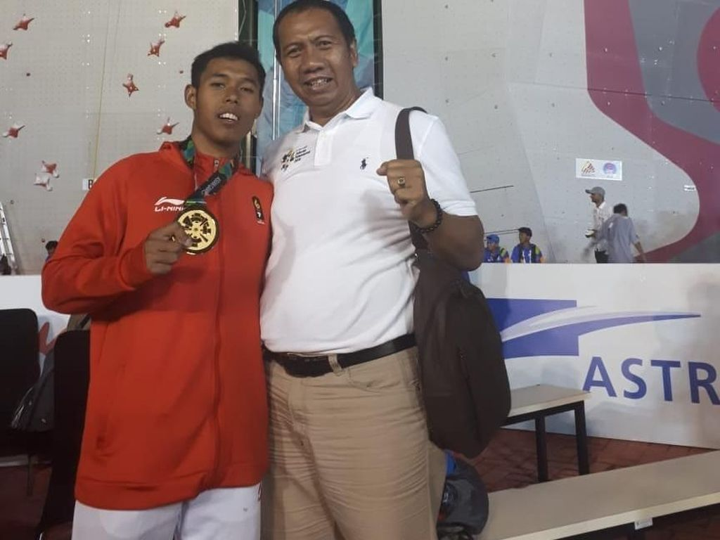 Kebanggaan Keluarga Saat Atlet Panjat Tebing Asal Probolinggo Sabet Emas