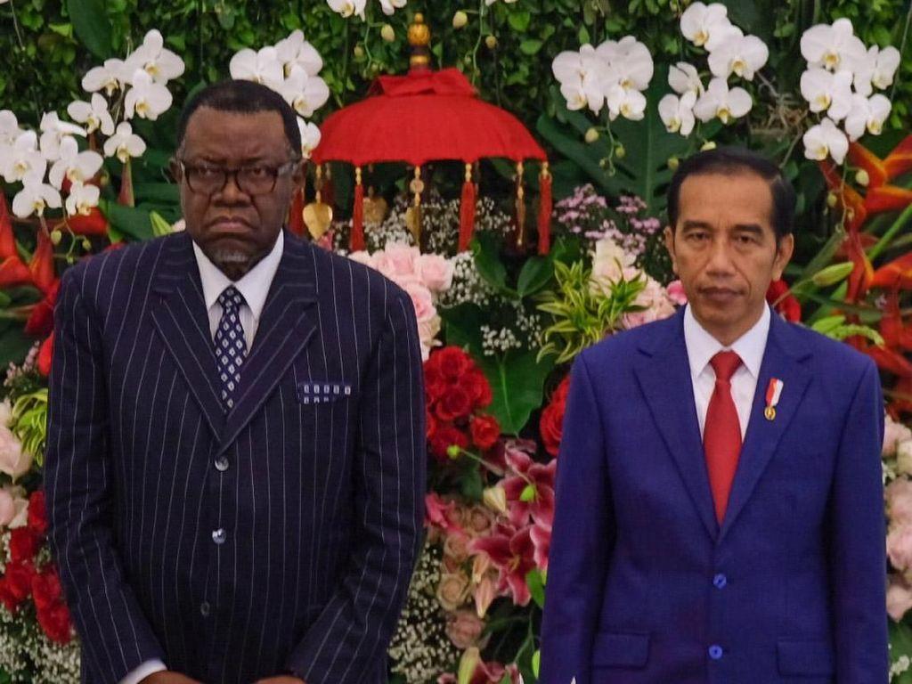Didukung Jadi Anggota DK PBB, Jokowi Terima Kasih ke Namibia