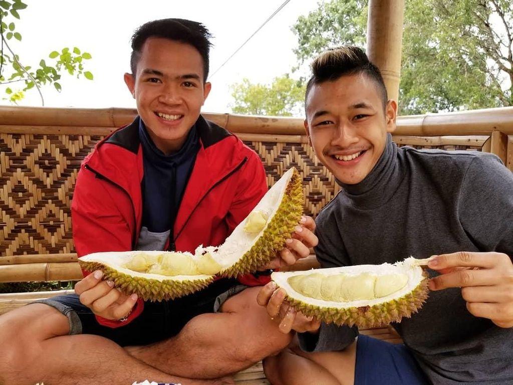 Peluk Jokowi dan Prabowo, Ini Potret Atlet Hanifan Yudani Ternyata  Gemar Durian