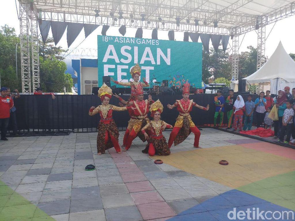 Tarian Melayu agar Asian Games 2018 Tetap Bergelora di Jakabaring