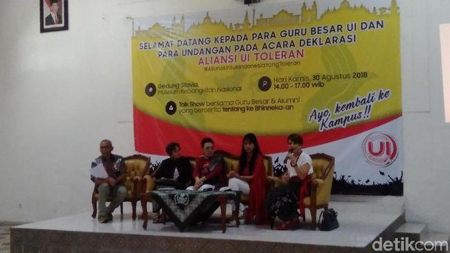 Cegah Radikalisme, Alumni UI Luncurkan Aliansi UI Toleran