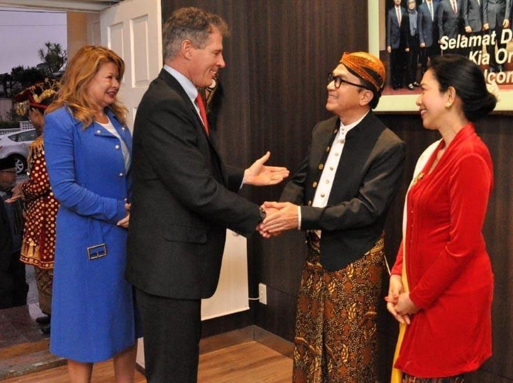 Semarak Indonesia di Resepsi Diplomatik di Wellington