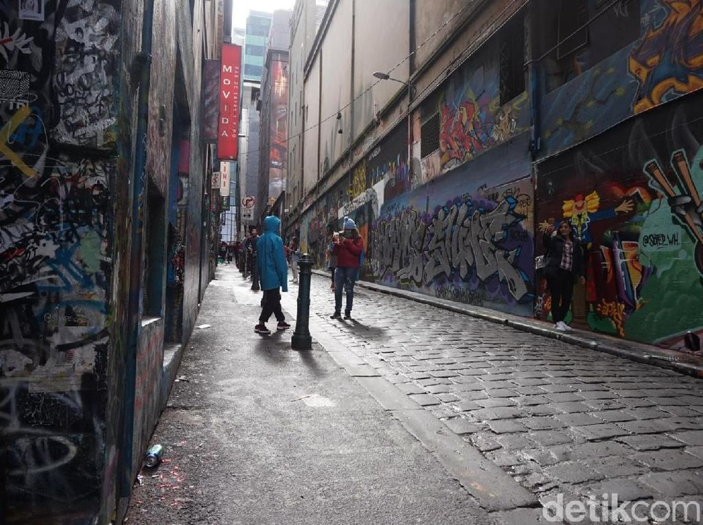 Foto: Gang Artistik Nan Instagenic di Melbourne, Australia