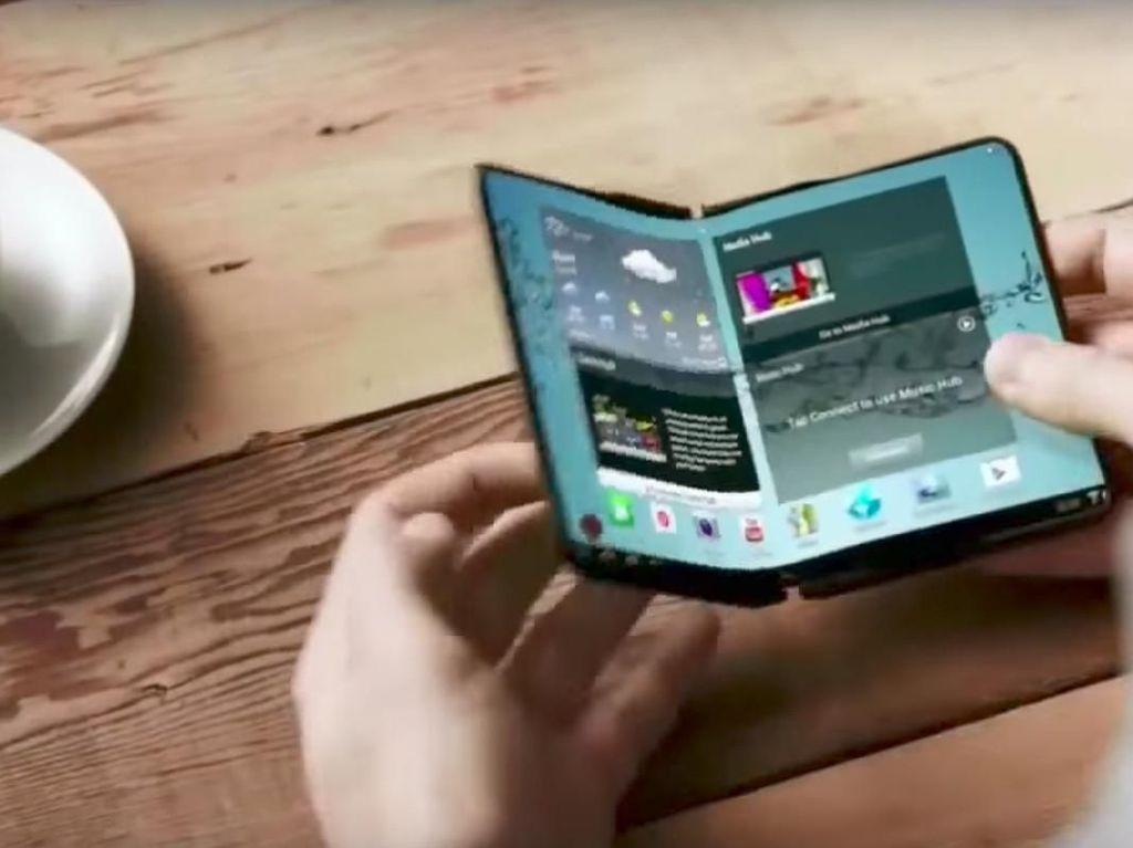 Samsung Rela Berbagi Layar Lipat dengan Oppo dan Xiaomi