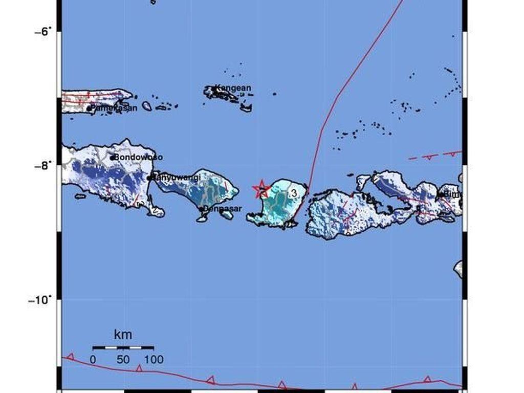 Gempa 5,1 SR Terjadi di Mataram