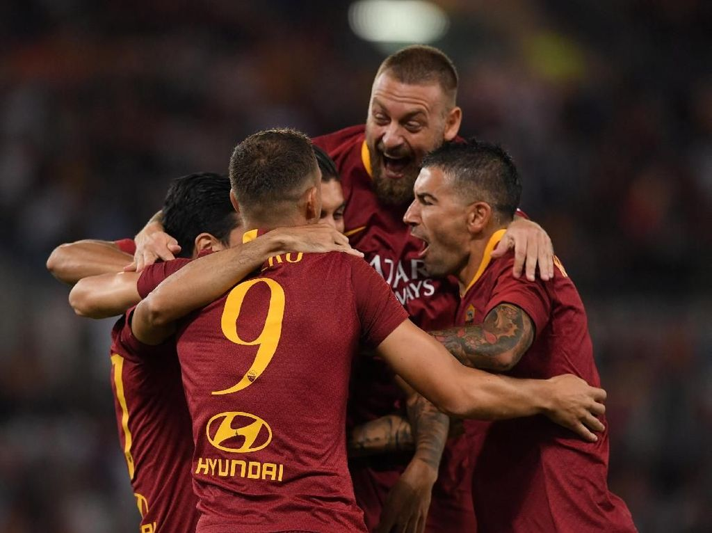 Sulit Saingi Juventus, Roma Bidik Empat Besar