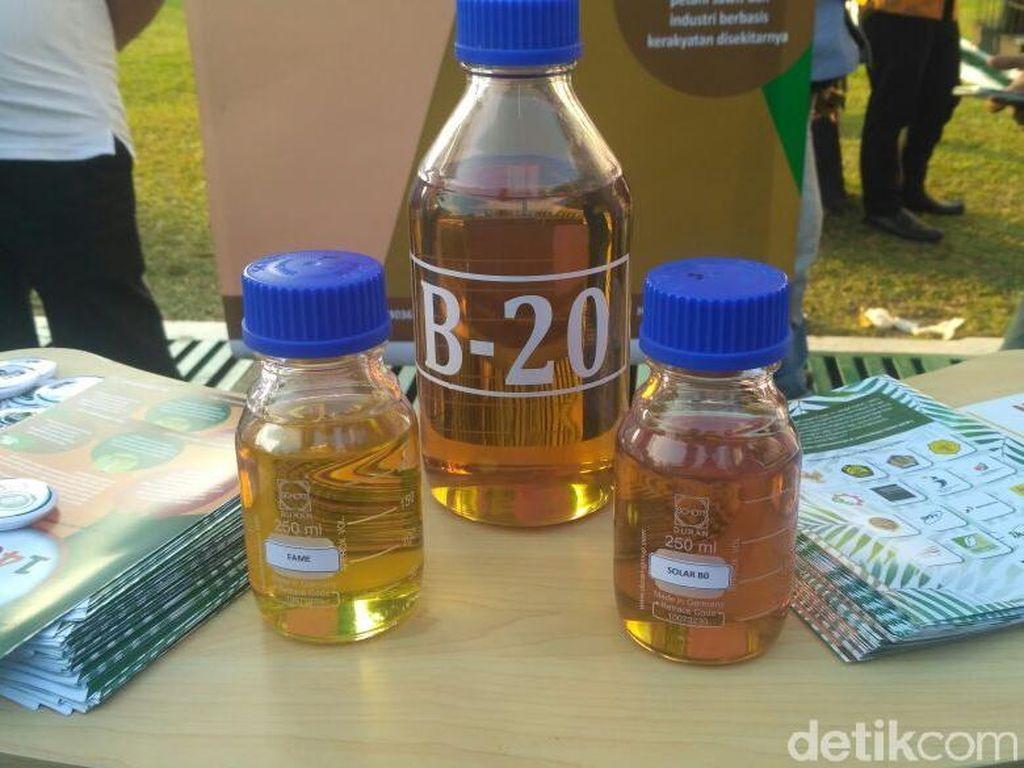 Tangki Minyak Kontraktor Mau Dipakai Buat Campur B20