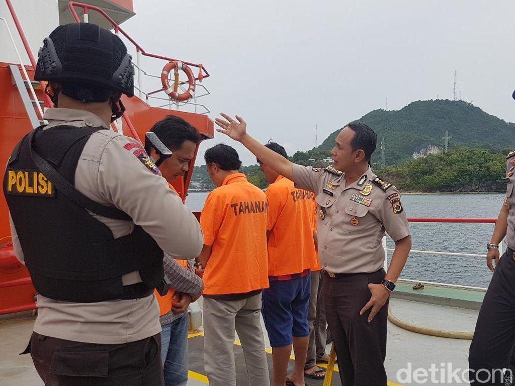 Polisi Gagalkan Penjualan Gelap 40 Ton BBM di Tengah Laut Papua