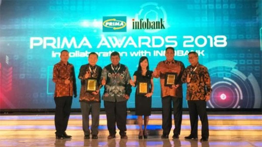 Bank Mega Raih Prima Awards 2018
