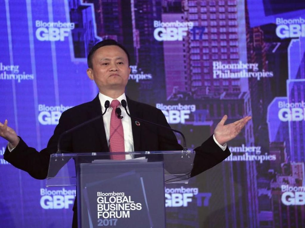 Perbedaan Kontras Jack Ma dan Calon Penggantinya