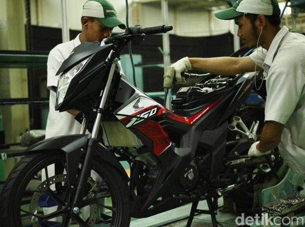 Ayam Jago Honda Punya Striping Baru