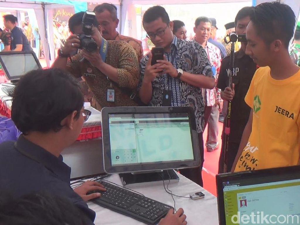 Khusus Napi, Belanja di Koperasi Lapas Malang Cukup Pakai Sidik Jari