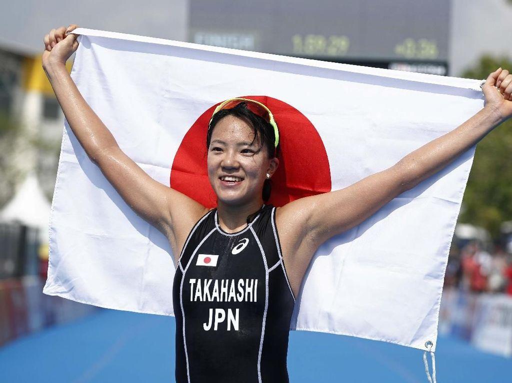 Jepang Rebut Emas Triathlon Putri, Ameera Finis ke-17