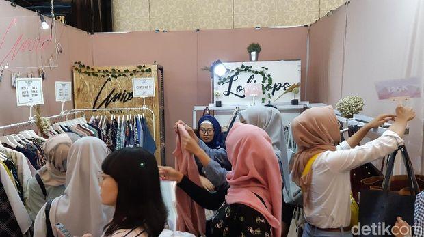 150 Brand Fashion Lokal Ramaikan Trademark Market Bandung