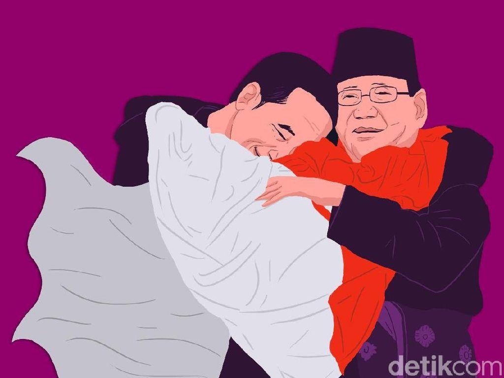 Prabowo Untung Kalau Nomor 1, Jokowi Nomor 2