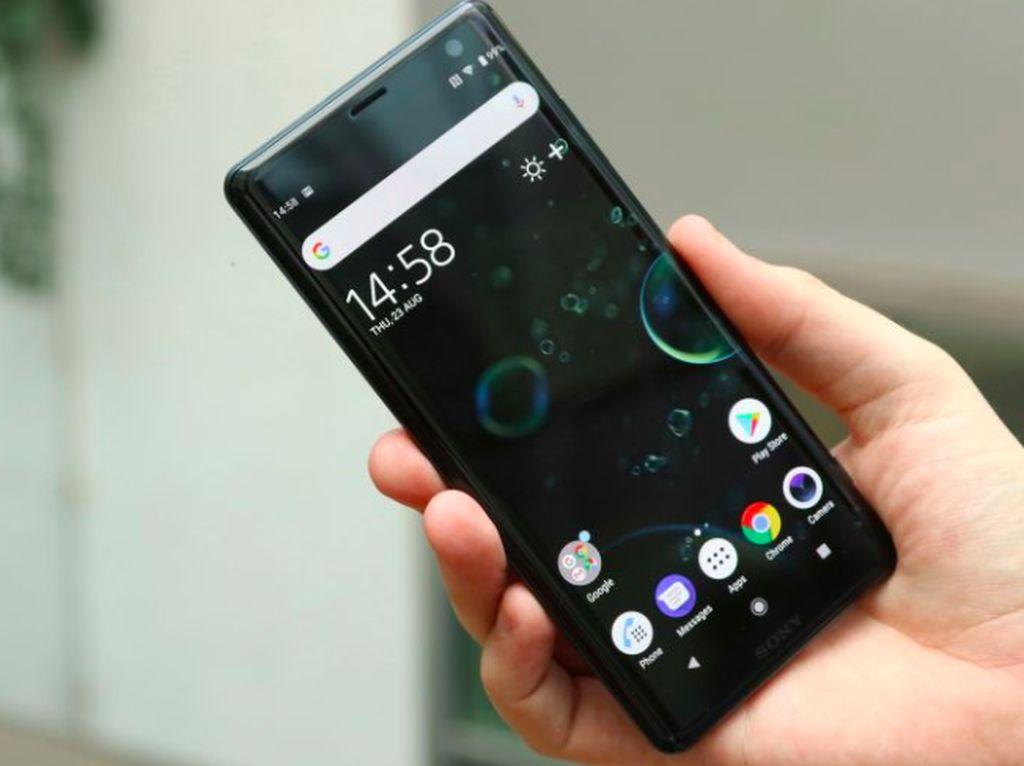 Melihat Ponsel Flagship Xperia XZ3 dari Dekat