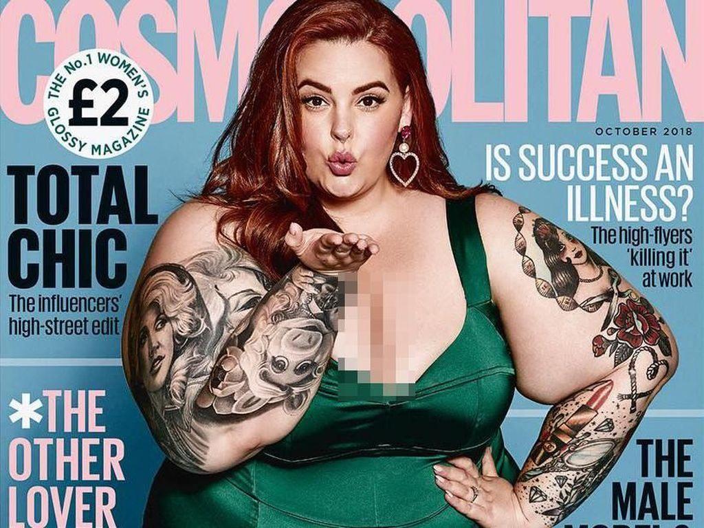 Tess Holliday, Model Plus Size Pertama yang Tampil di Sampul Cosmopolitan