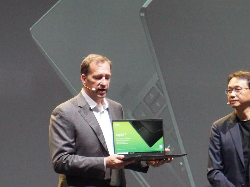 Acer Segarkan Lini Laptop Aspire