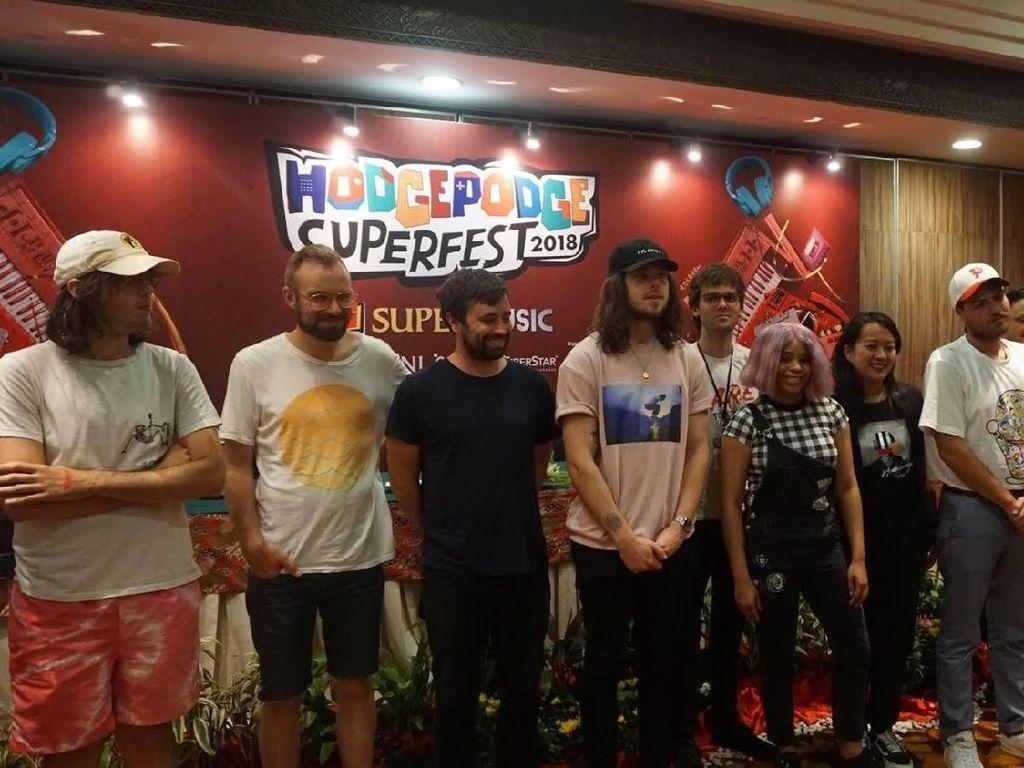 18 Artis Internasional dan 15 Musisi Lokal Siap Isi Debut Hodgepodge Superfest